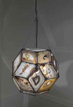 Crystal gate lamp