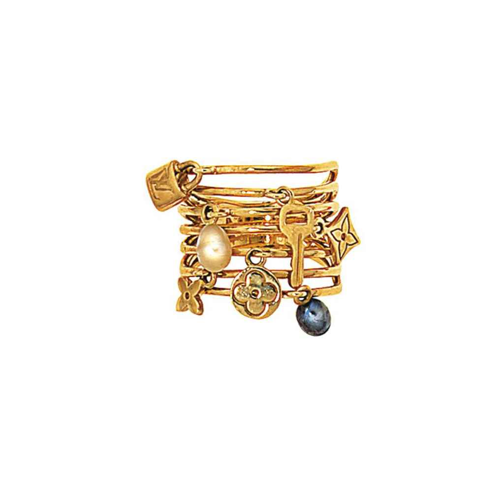 A 'Monogram' charm ring, by Lo