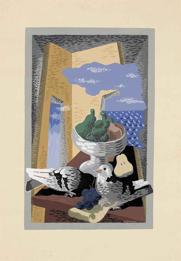 After Gino Severini (1883-1966