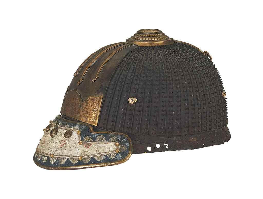 A hoshi-bachi kabuto (Helmet)