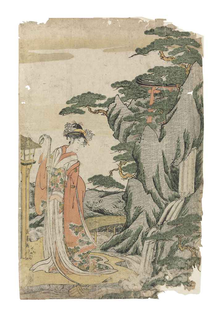 Eishosai Choki (act. c. 1790s-
