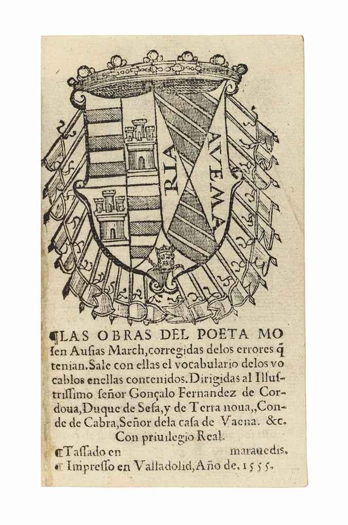 MARCH, Ausias (c.1397-c.1459).