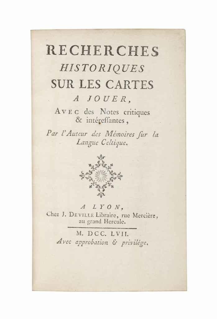 [BULLET, Jean-Baptiste (c. 169