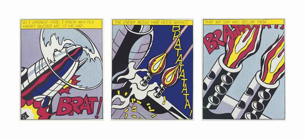 After Roy Lichtenstein (1923-1997)