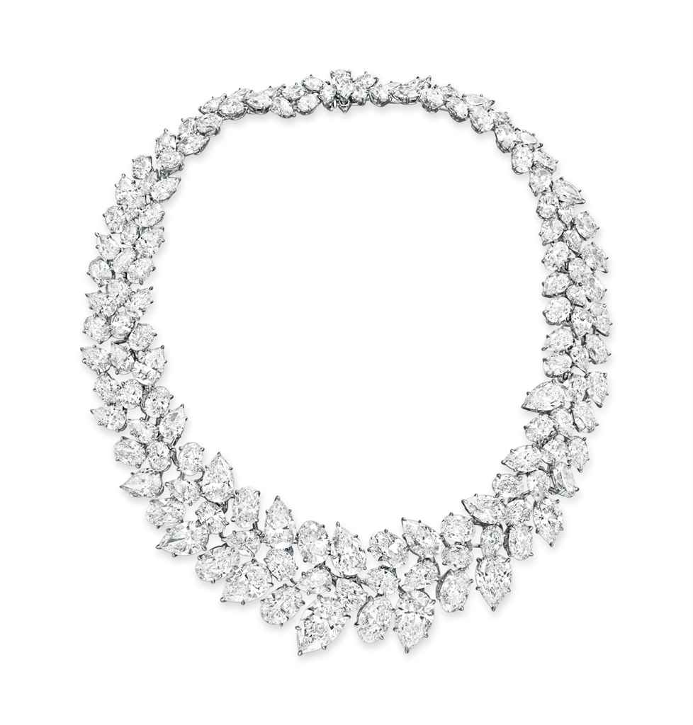 A DIAMOND NECKLACE, BY WILLIAM