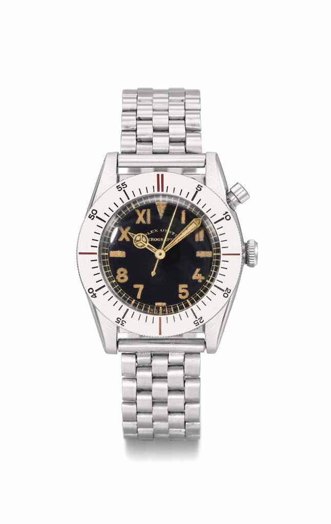 Rolex. An extremely rare, hist