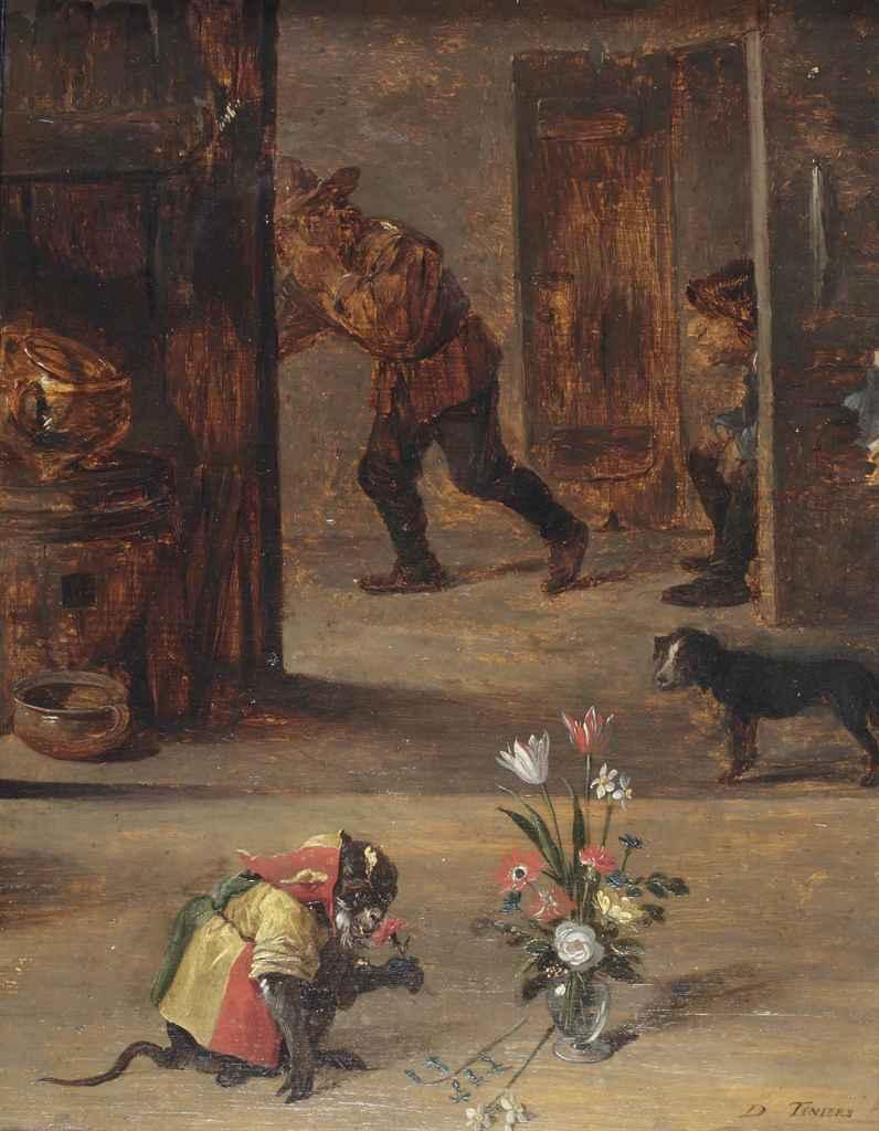 Circle of David Teniers II (Antwerp 1610-1690 Brussels) and ...