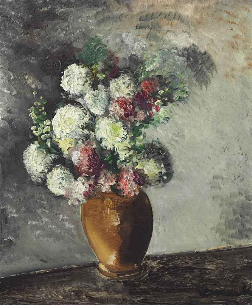 maurice de vlaminck 1876 1958 fleurs dans un vase christie 39 s. Black Bedroom Furniture Sets. Home Design Ideas