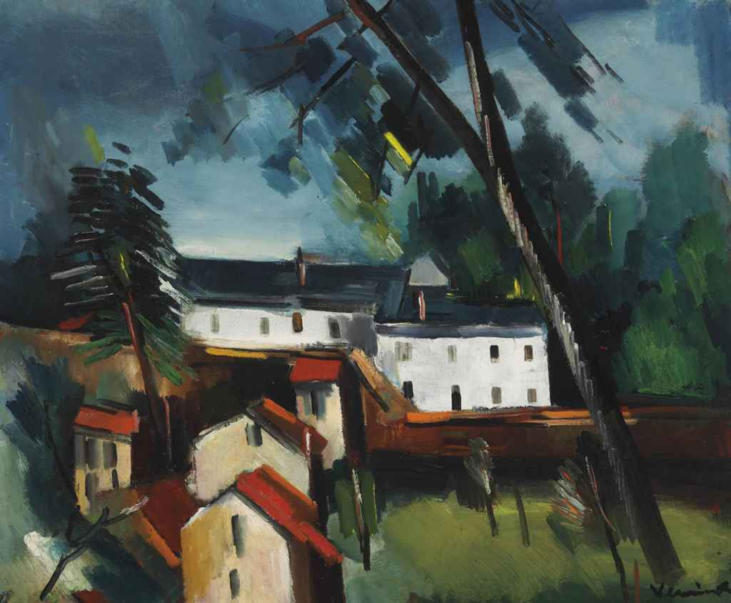 maurice de vlaminck 1876 1958 maisons dans la campagne christie 39 s. Black Bedroom Furniture Sets. Home Design Ideas