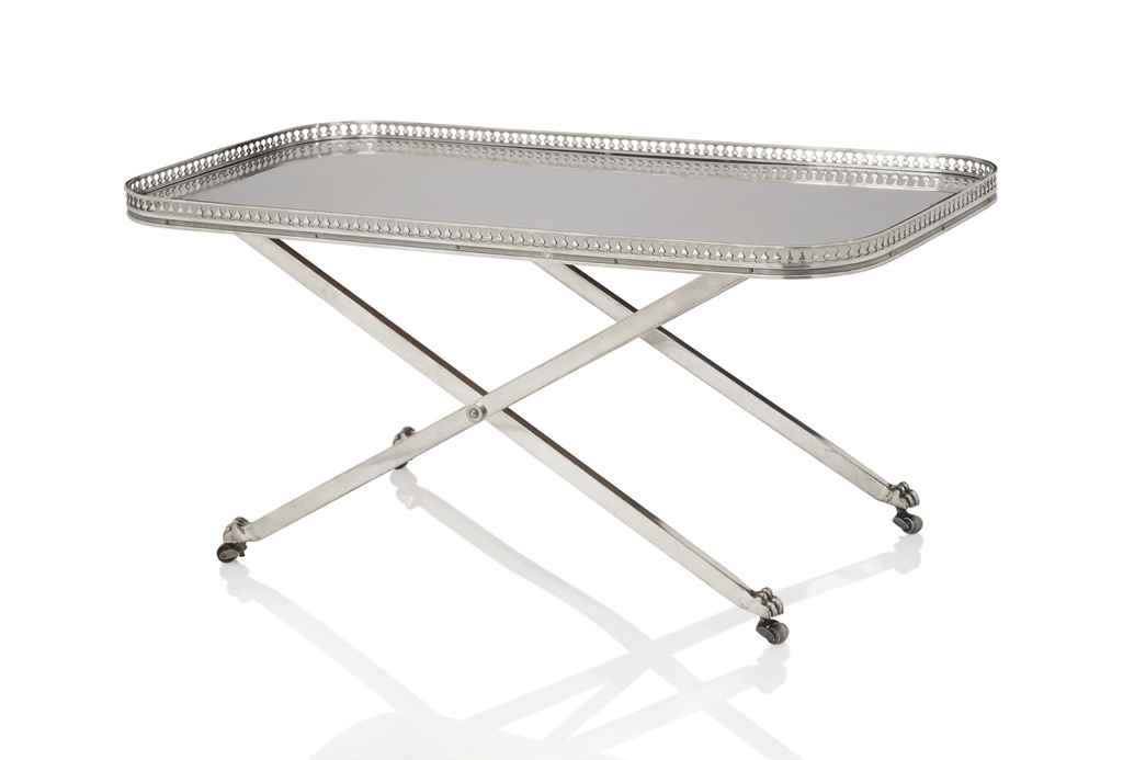 Maria pergay n e en 1930 table basse 39 plateau - Table basse plateau pivotant ...