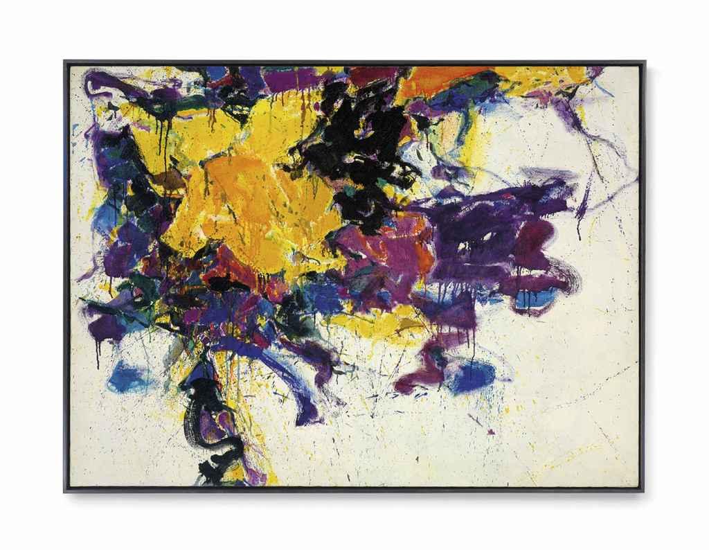 Sam Francis 1923 1994 Untitled Christie S