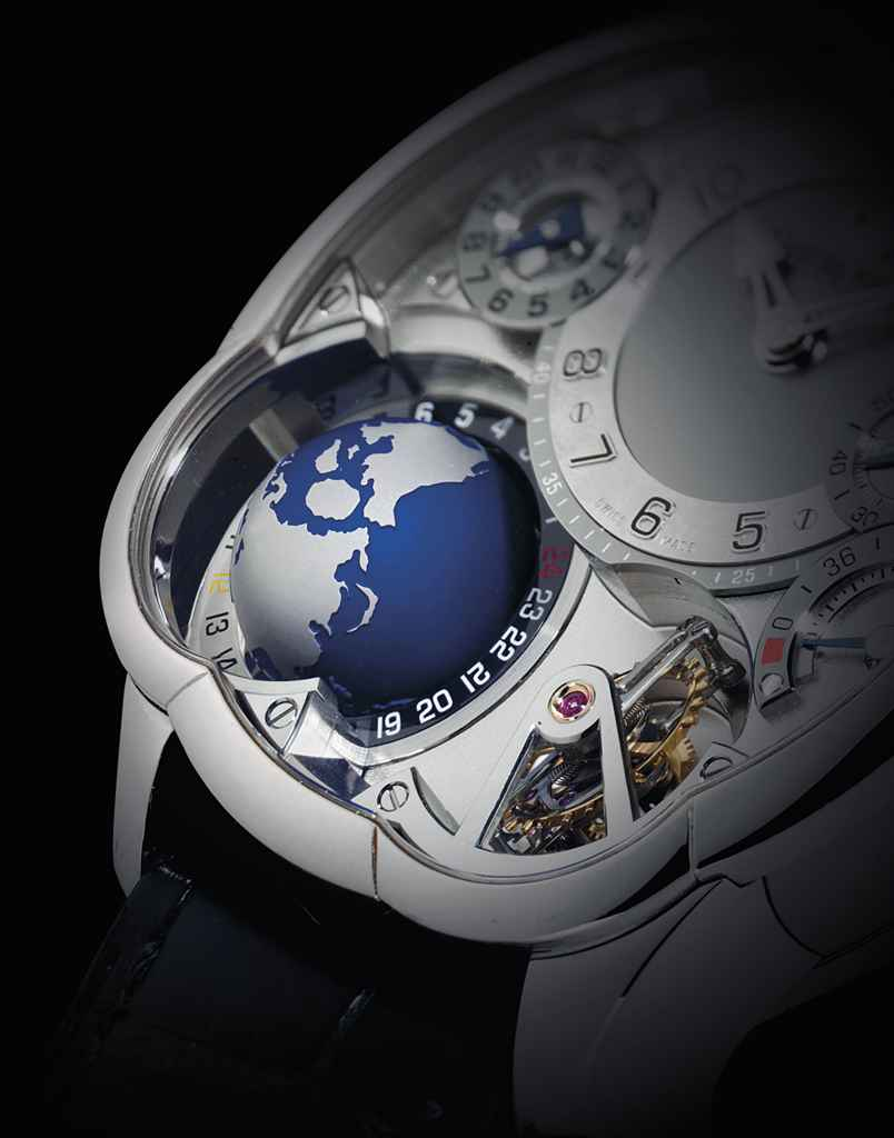 GREUBEL FORSEY. A VERY FINE, I