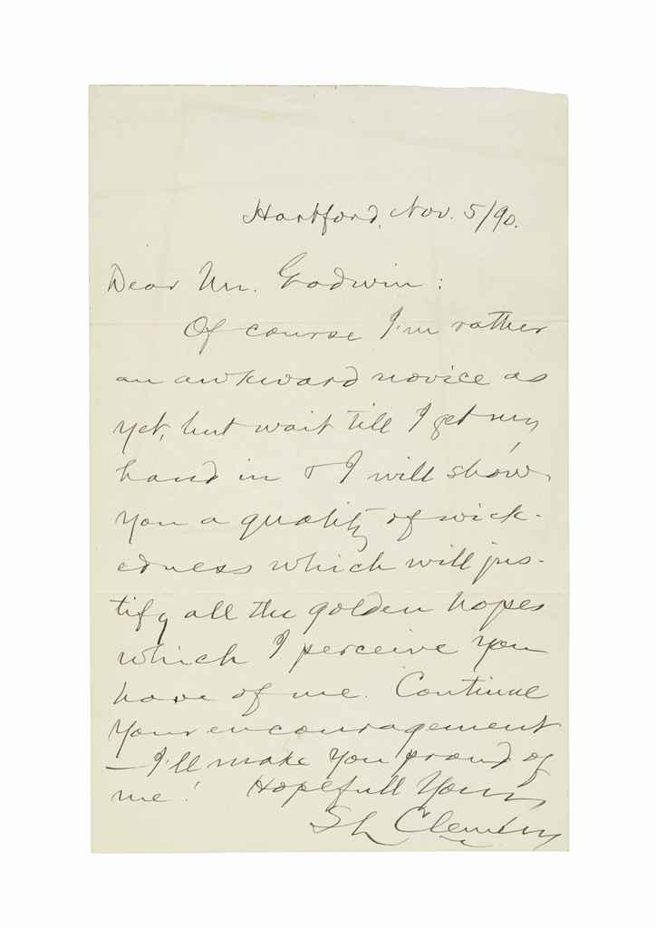 CLEMENS, Samuel Langhorne (