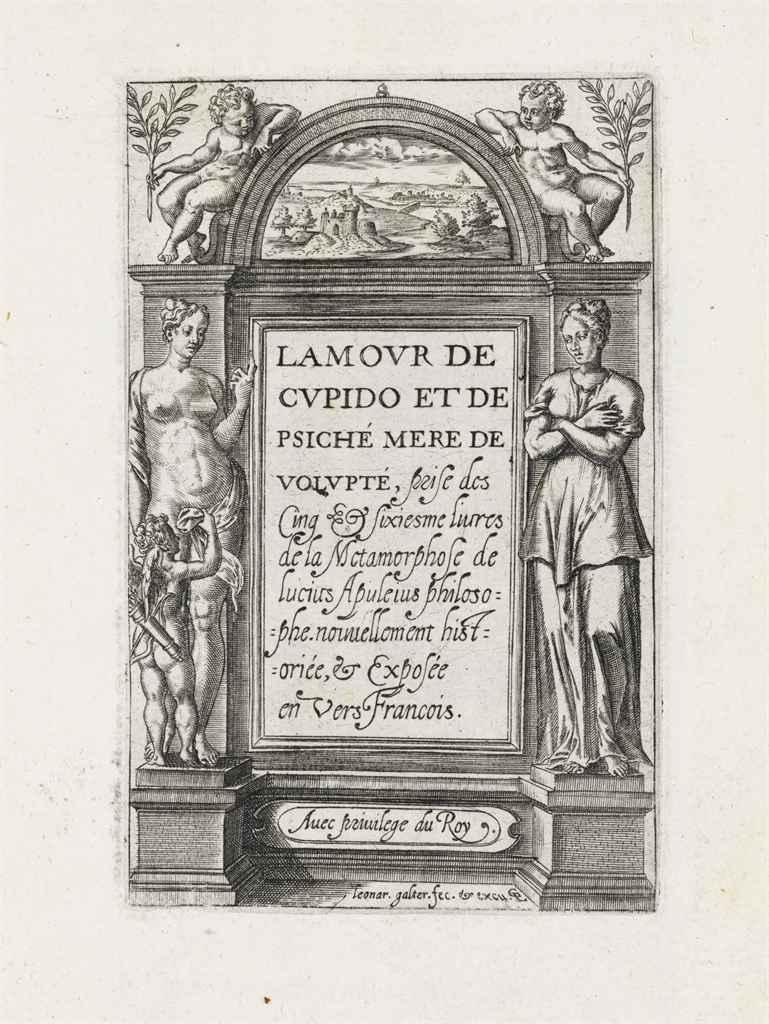 APULEIUS MADAURENSIS, Lucius (b ca123) Lamour de Cupido et ...