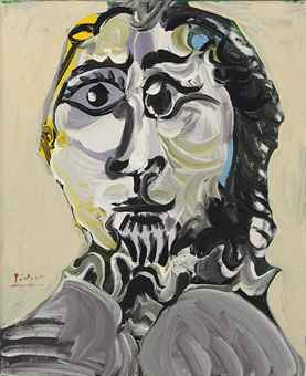 Best Buy Private Auction >> Pablo Picasso (1881-1973) | Tête d'homme | IMPRESSIONIST ...