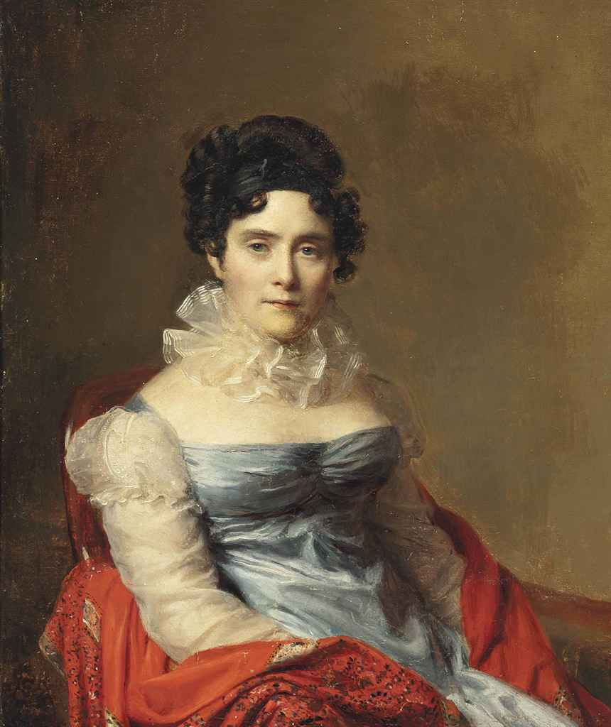 Firmin Massot (Geneva 1766-1849) , Portrait of a lady ...