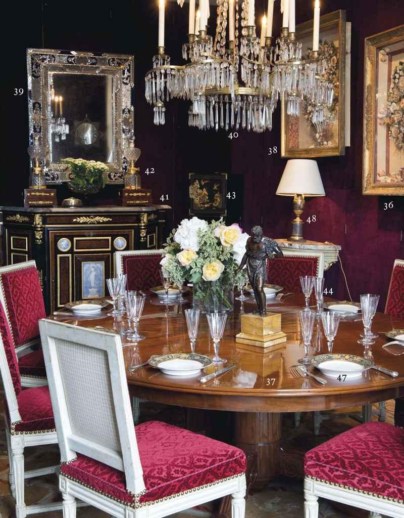 Table de salle a manger d 39 epoque restauration estampille for Salle a manger jacob