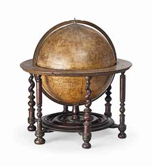 AN EARLY ENGLISH TERRESTRIAL GLOBE