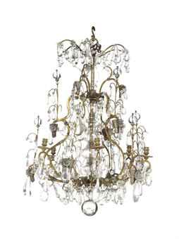 lustre cage de style louis xv fin du xixeme siecle european ceramics glass chinese export. Black Bedroom Furniture Sets. Home Design Ideas