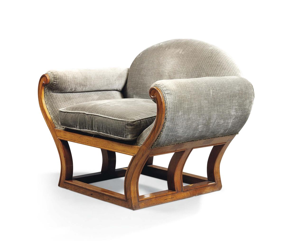 Frank brangwyn 1857 1956 armchair circa 1930 design for Chair design 1930