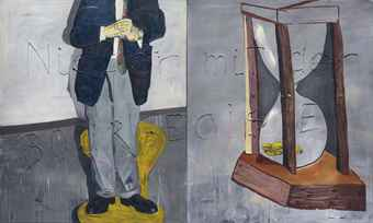 Martin Kippenberger Self Portrait