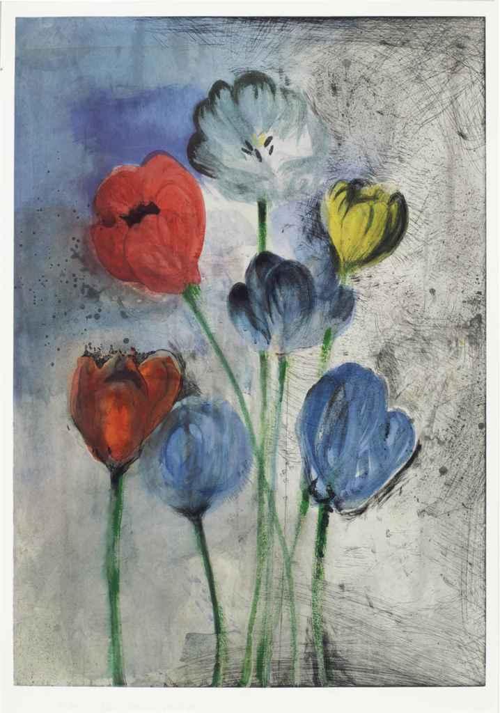 Jim Dine B 1935 Flowers Of Manhattan Christie S