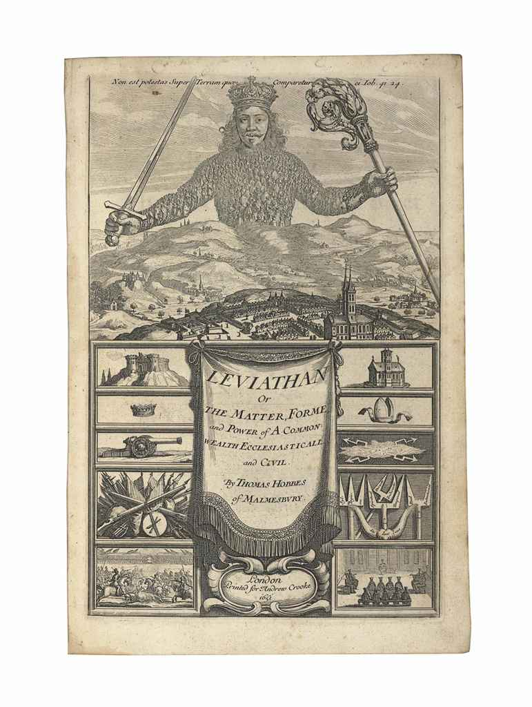 HOBBES, Thomas (1588-1679). Le