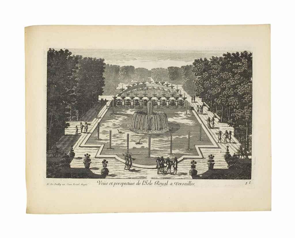 Poilly nicolas de 1626 1696 receuille des plus belles ve es des maisons ro - Plus belle maison de france ...