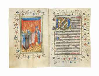 THE BOWET HOURS, use of Sarum, in Latin, ILLUMINATED MANUSCRIPT ON VELLUM