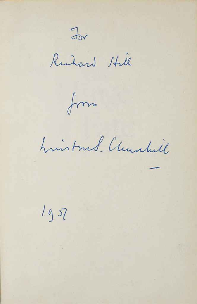 CHURCHILL, Winston S The Second World War, The Hinge of Fate...