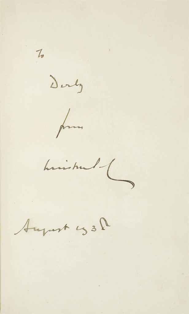 CHURCHILL, Winston Spencer (1874-1965) Marlborough His Life ...