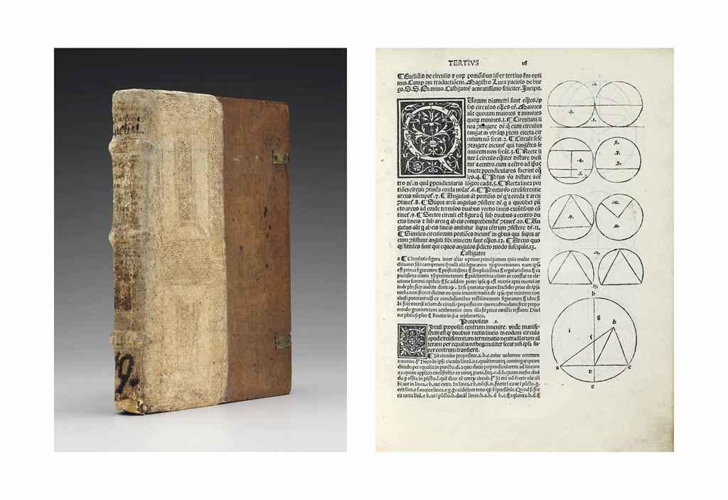EUCLID (fl ca 300 BC) Euclidis opera Campano interprete fi...