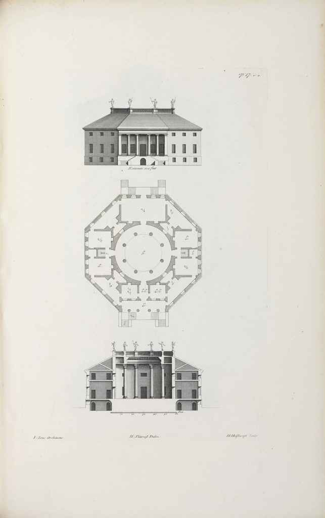 KENT, William (1685-1748), editor The Designs of Inigo Jones...