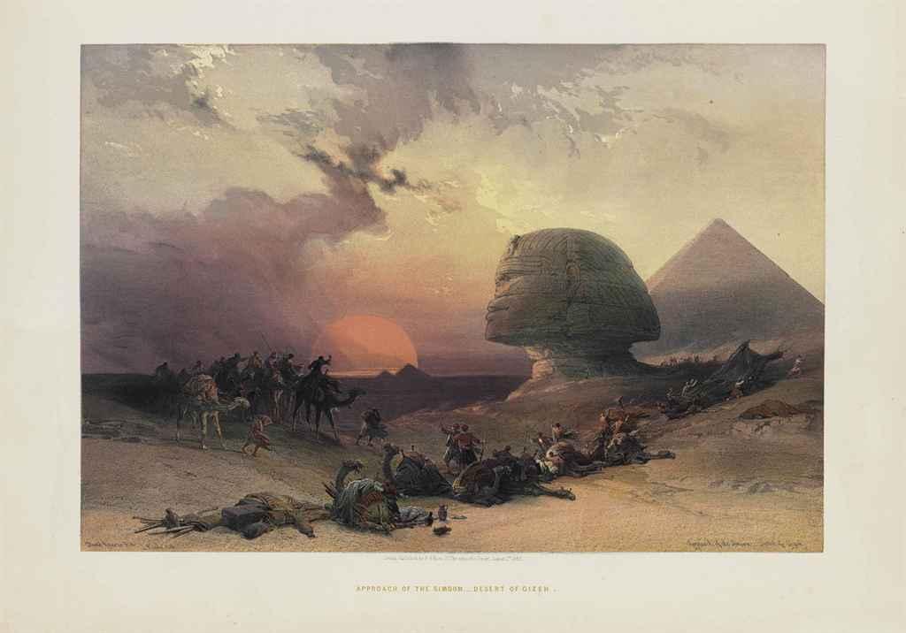 ROBERTS, David (1796-1864, art