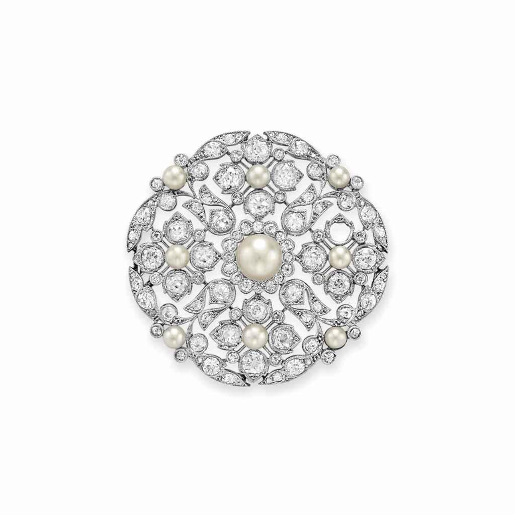 A BELLE ÉPOQUE DIAMOND AND PEA