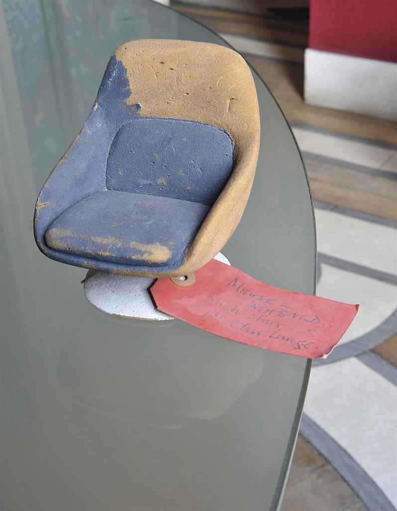 AN ENGLISH PAINTED FOAM MODEL REDUCTION OF AN EASY ARMCHAIR ...