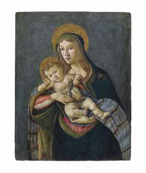 The Madonna and Child with the Crown of Thorns and three nails