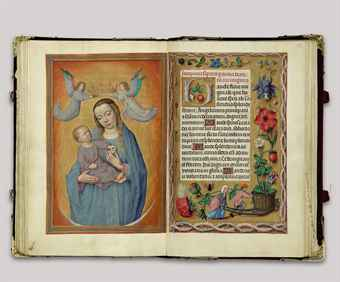 THE ROTHSCHILD PRAYERBOOK, a Book of Hours, use of Rome, in Latin, ILLUMINATED MANUSCRIPT ON VELLUM