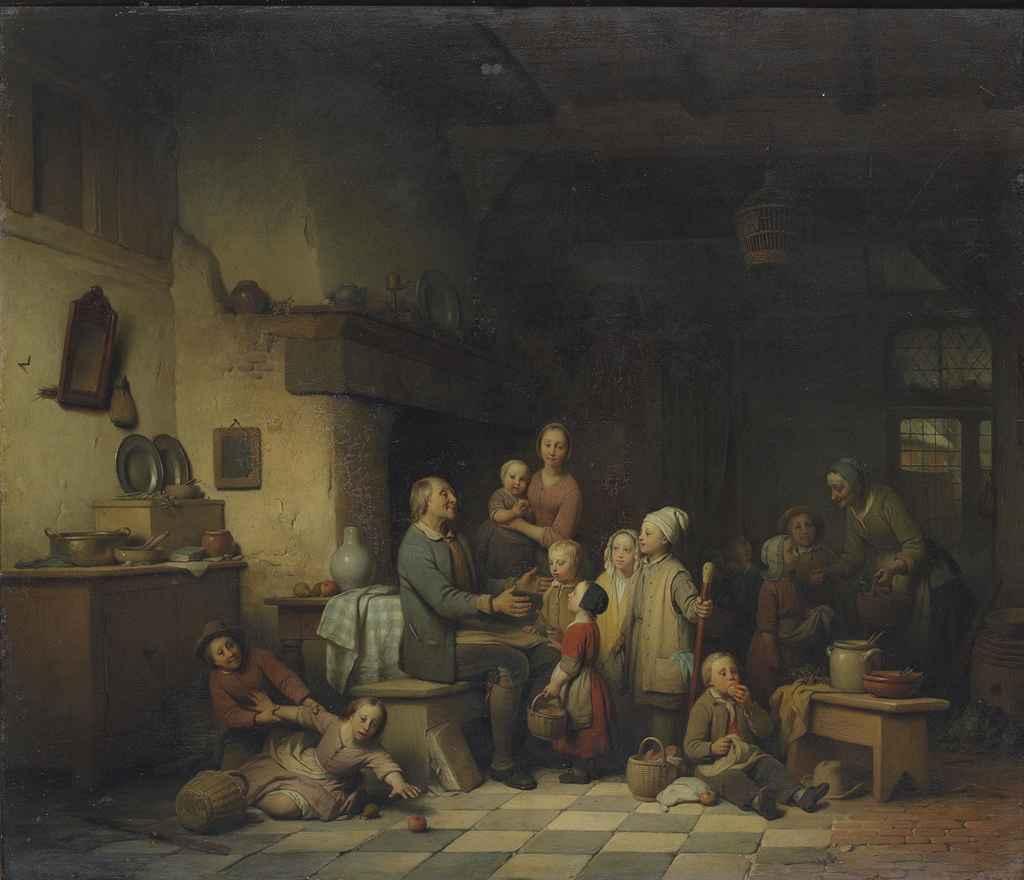 Ferdinand De Braekeleer the Elder (Dutch, 1792-1883)