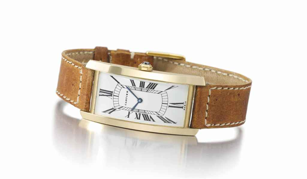 Cartier. A fine and rare large