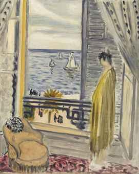Henri matisse 1869 1954 femme aupr s de la fen tre for Henri matisse fenetre
