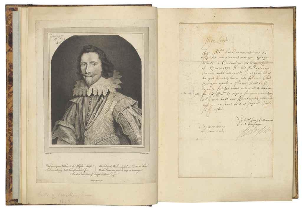 AUTOGRAPH COLLECTION A substantial collection of autograph l...