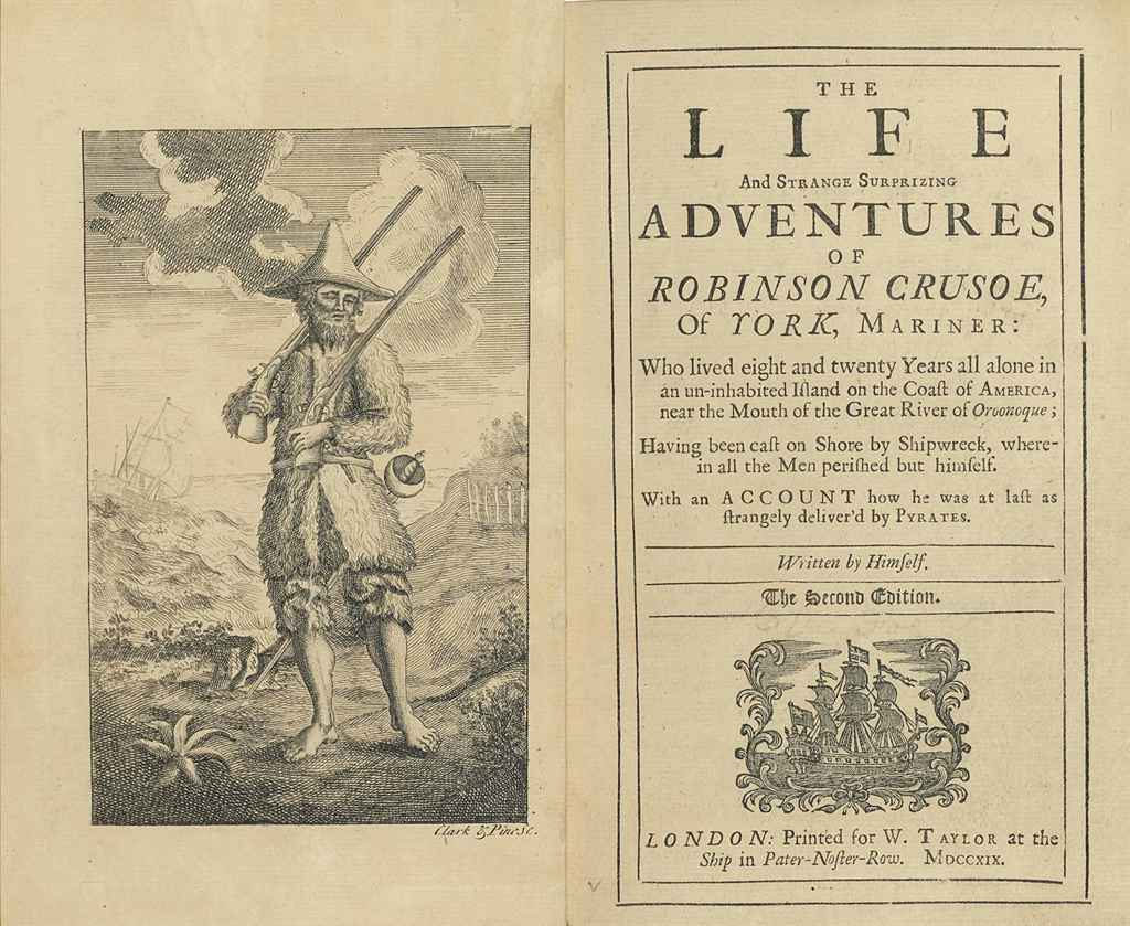 "robinson crusoe king or soul searcher A summary of themes in daniel defoe's robinson crusoe to himself as ""king"" over the of the state of his own soul is a key point in the."