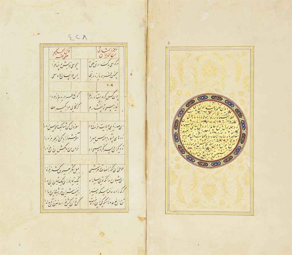 AWHAD AL-DIN 'ALI BIN ISHAQ ANWARI AL-ABYURDI (D. 1189): DIWAN