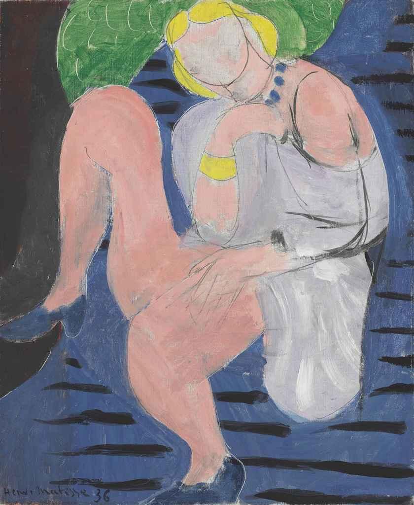 henri matisse nu assis fond bleu s paintings henri matisse 1869 1954