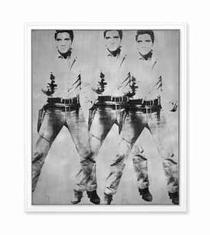 Warhol Red Elvis