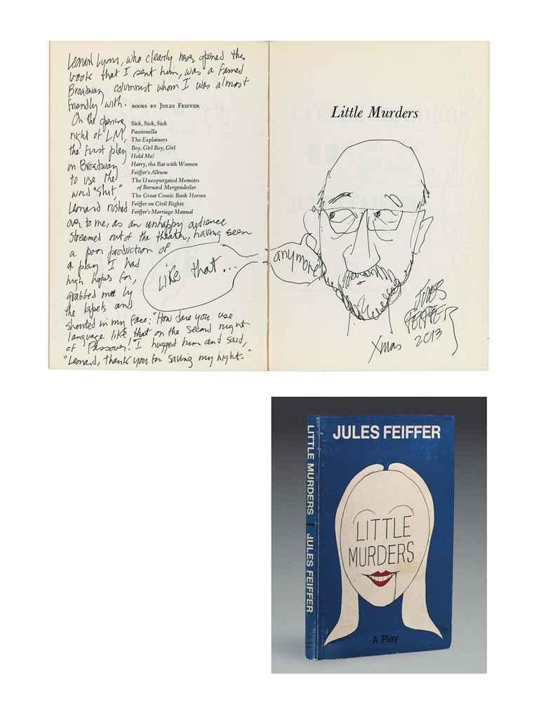 FEIFFER, Jules (b. 1929). Litt