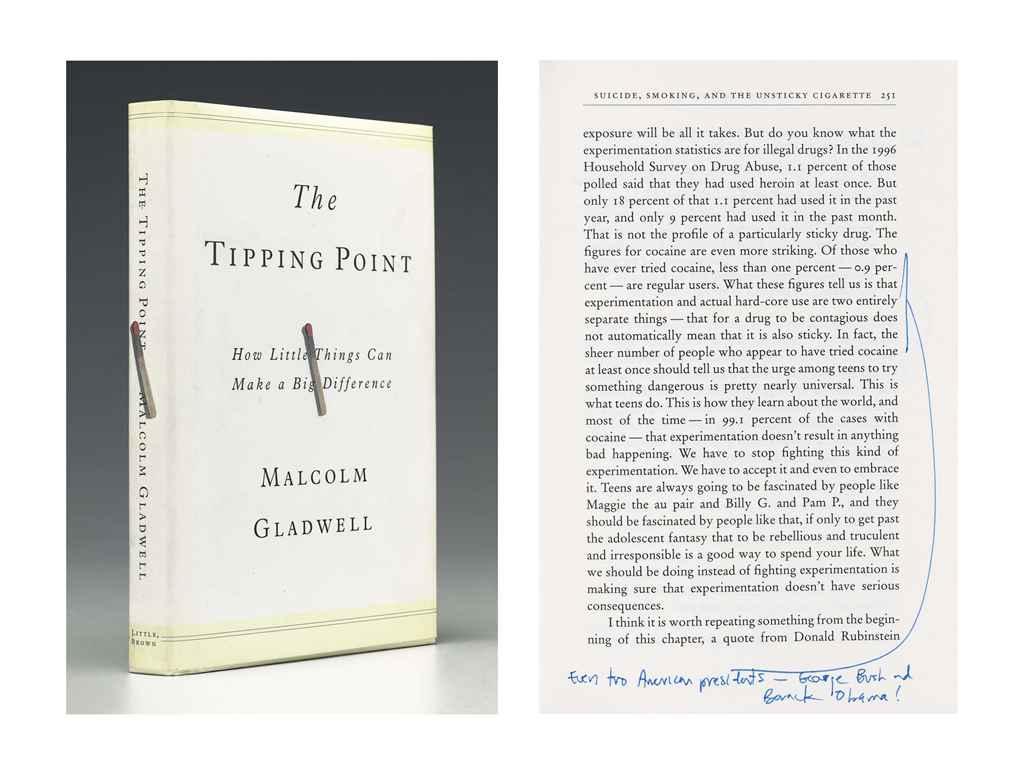 GLADWELL, Malcolm (b. 1963). T