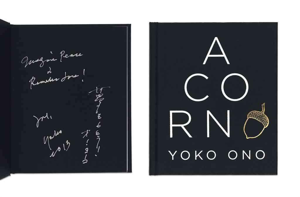 Ono, Yoko (b. 1933). Acorn. Ne
