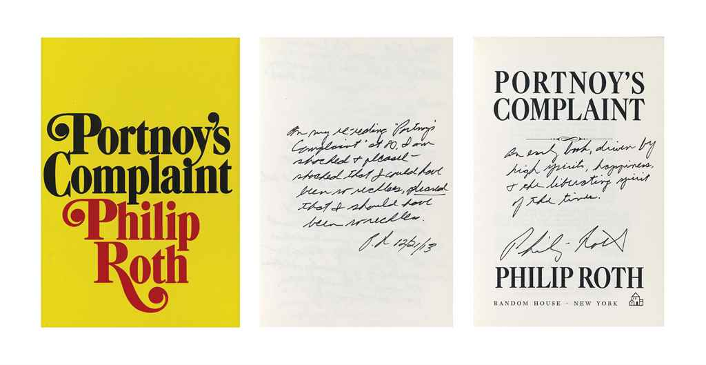 ROTH, Philip (b. 1933). Portno
